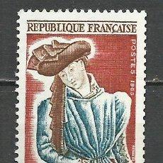 Sellos: FRANCIA - 1965 - MICHEL 1503** MNH. Lote 162007650