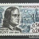 Sellos: FRANCIA - 1963 - MICHEL 1441** MNH. Lote 162007874
