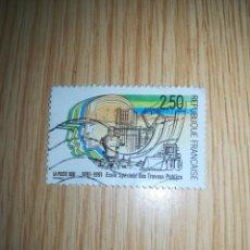 Sellos: REPÚBLICA FRANCESA 2,50 AÑO 1991. Lote 163505813