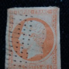 Sellos: SELLO FRANCES, NAPOLEON III, 40 CENTS, AÑO 1870, SIN DENTAR.. Lote 163604726