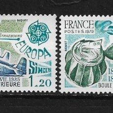 Sellos: FRANCIA 1979 ** NUEVO EUROPA CEPT - 5/22. Lote 164802018