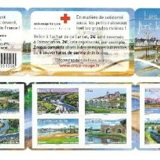 Sellos: FRANCE 2013 - CROIX ROUGE ** STAMP BOOKLET MNH. Lote 195309135