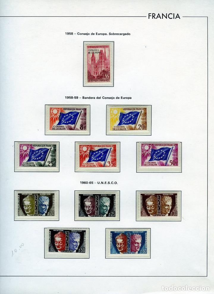 SELLOS DEL CONSEJO DE EUROPA COLECCIÓN AÑO1958 AL1992-IVERT.Nº16 AL109(93 VALORES)-LEER DESCRIPCIÓN. (Sellos - Extranjero - Europa - Francia)