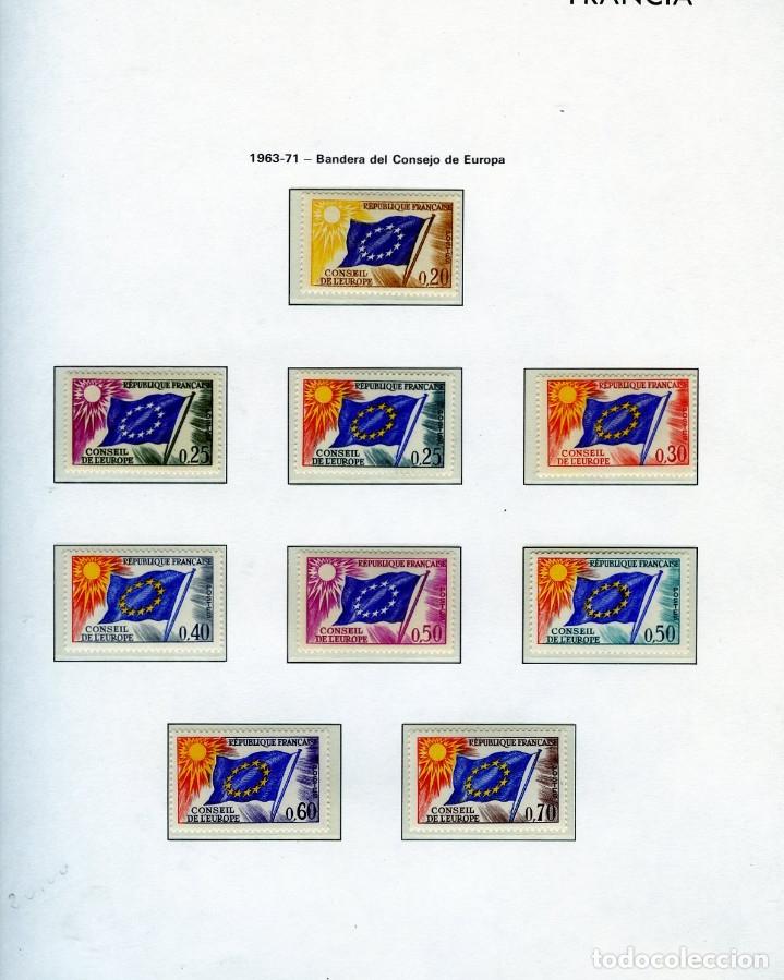 Sellos: SELLOS DEL CONSEJO DE EUROPA COLECCIÓN AÑO1958 AL1992-IVERT.Nº16 AL109(93 VALORES)-LEER DESCRIPCIÓN. - Foto 2 - 166103222