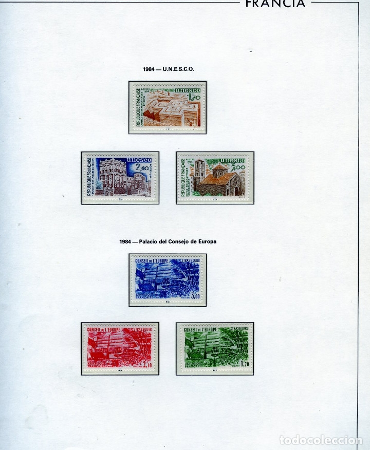 Sellos: SELLOS DEL CONSEJO DE EUROPA COLECCIÓN AÑO1958 AL1992-IVERT.Nº16 AL109(93 VALORES)-LEER DESCRIPCIÓN. - Foto 9 - 166103222