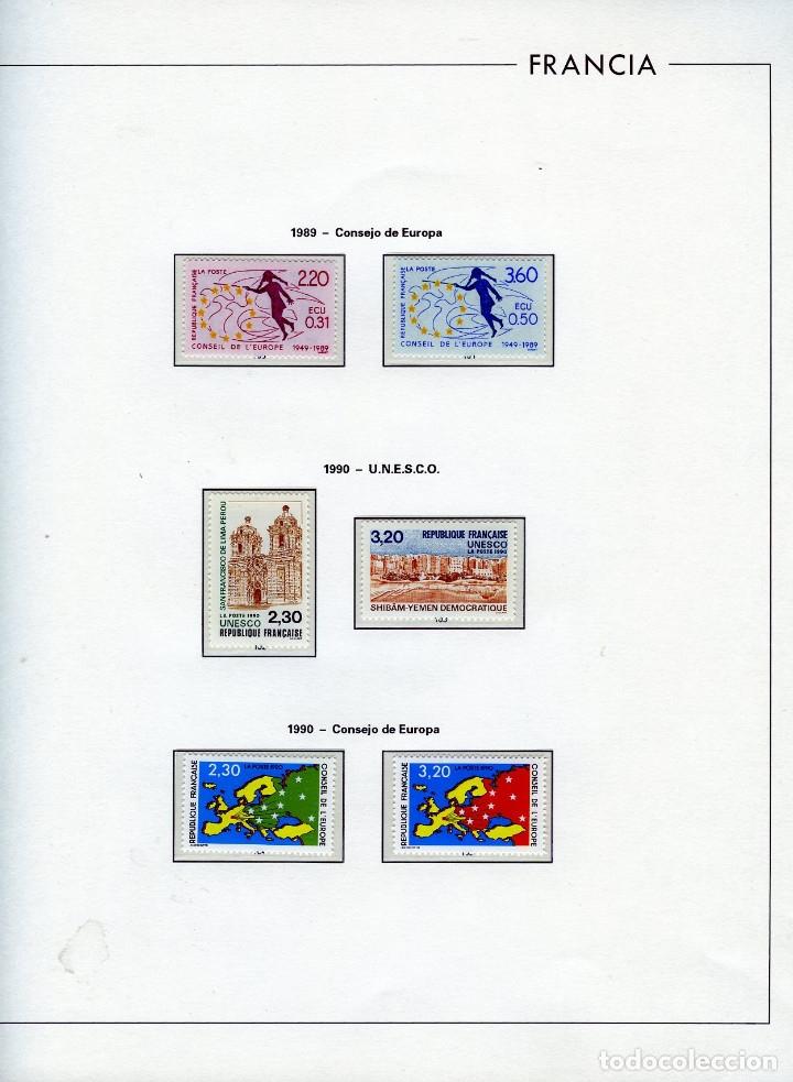 Sellos: SELLOS DEL CONSEJO DE EUROPA COLECCIÓN AÑO1958 AL1992-IVERT.Nº16 AL109(93 VALORES)-LEER DESCRIPCIÓN. - Foto 13 - 166103222