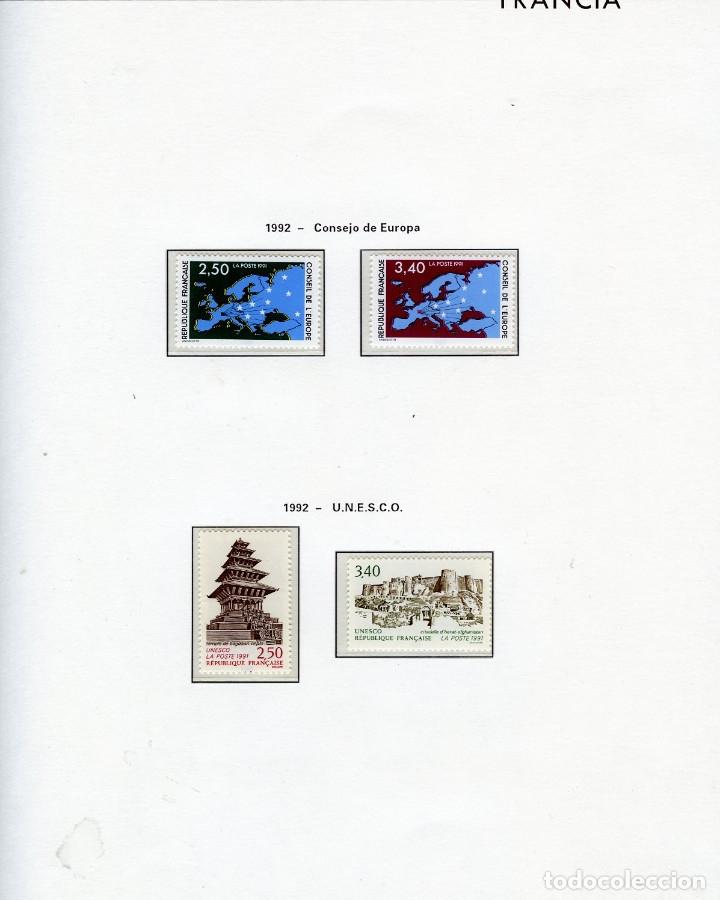 Sellos: SELLOS DEL CONSEJO DE EUROPA COLECCIÓN AÑO1958 AL1992-IVERT.Nº16 AL109(93 VALORES)-LEER DESCRIPCIÓN. - Foto 14 - 166103222