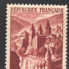 Sellos: FRANCIA 1947 YVERT 792, ABADÍA DE CONQUES - NUEVO **. Lote 166410528