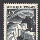 Sellos: FRANCIA 1949 YVERT 829, EXPEDICIONES POLARES DE PAUL EMILE VICTOR - NUEVO **. Lote 166411440