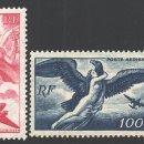 Sellos: FRANCIA 1946-47 YVERT A 16-19, MITOLOGÍA, CORREO AÉREO - NUEVO **. Lote 166412301
