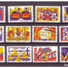 Selos: SERIE THE FUNFAIR DE FRANCIA SELLOS ADHESIVOS 2017 YVERT 1430 AL 1441. Lote 221253265