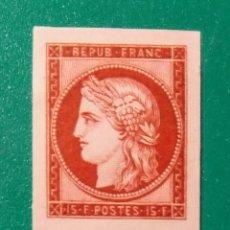 Sellos: FRANCIA 1949. CENTENARIO DEL SELLO. YVERT 830/833**.. Lote 168867998
