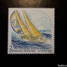 Sellos: FRANCIA. YVERT 2789 SERIE COMPLETA NUEVA SIN CHARNELA. DEPORTES. VELA. Lote 169041809