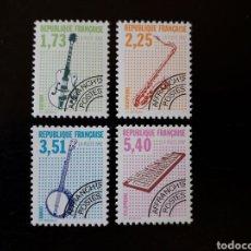 Sellos: FRANCIA. YVERT PO- 224/7 SERIE COMPLETA NUEVA SIN CHARNELA. INSTRUMENTOS MUSICALES.. Lote 169105949