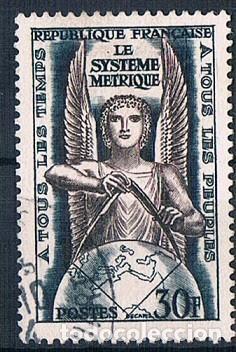 FRANCIA 1954 SELLO YVES 998 SERIE USADO (Sellos - Extranjero - Europa - Francia)