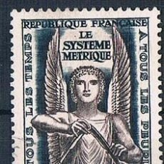 Sellos: FRANCIA 1954 SELLO YVES 998 SERIE USADO. Lote 171149520