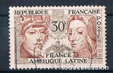 FRANCIA 1956 SELLO YVES 1060 SERIE USADO (Sellos - Extranjero - Europa - Francia)