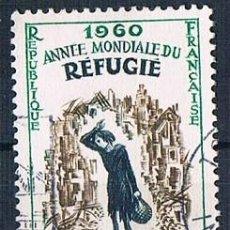 Sellos: FRANCIA 1960 SELLO YVES 1253 SERIE USADO. Lote 171149547