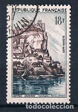 FRANCIA 1957 SELLO YVES 1127 USADO (Sellos - Extranjero - Europa - Francia)