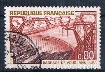 FRANCIA 1969 SELLO YVES 1583 USADO (Sellos - Extranjero - Europa - Francia)