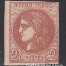 Sellos: FRANCIA, 1870 YVERT Nº 40B,. Lote 171668862
