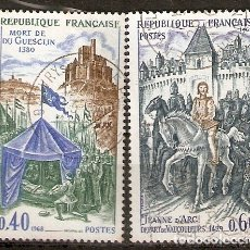 Timbres: FRANCIA.1968 YT 1578,1579. Lote 172356389