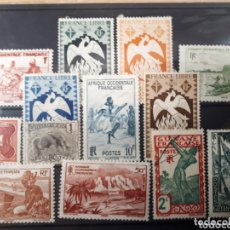 Sellos: SELLOS DE COLONIAS FRANCESAS LOT.N.7006. Lote 172897715