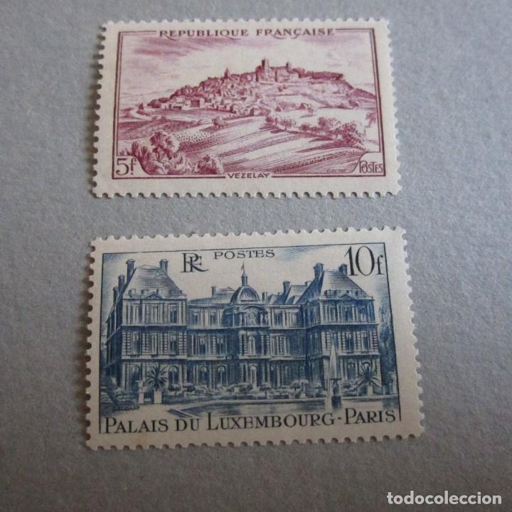 FRANCIA 1946, YVERT Nº 759/60**, MONUMENTOS (Sellos - Extranjero - Europa - Francia)