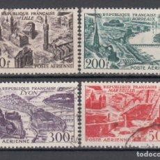 Sellos: FRANCIA, AÉREO 1949 YVERT Nº 24 / 27 . Lote 175726980
