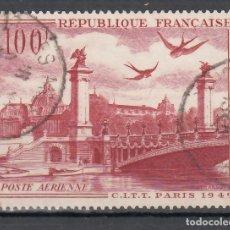 Sellos: FRANCIA, AÉREO 1949 YVERT Nº 28. Lote 175727017