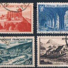 Sellos: FRANCIA 1949 SELLO YVES 841A/843 SERIE USADO. Lote 176389482