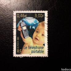 Selos: FRANCIA. YVERT 3374 SELLO SUELTO USADO. SIGLO XX. TELÉFONO MÓVIL.. Lote 176706014