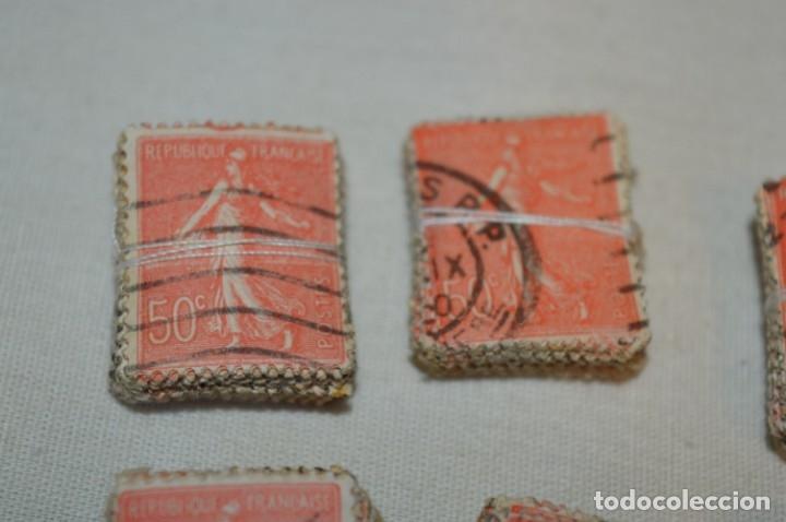 Sellos: Oportunidad sobre 1000 Sellos antiguos de FRANCIA - Pastillas de 100 - ¡MIRA! - Foto 2 - 176823589