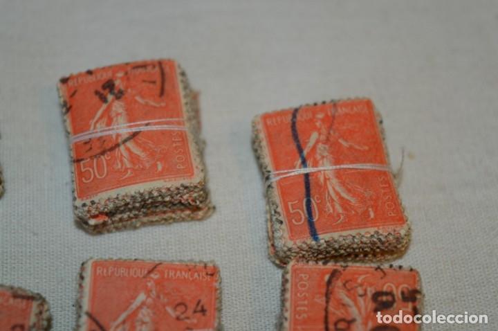 Sellos: Oportunidad sobre 1000 Sellos antiguos de FRANCIA - Pastillas de 100 - ¡MIRA! - Foto 3 - 176823589