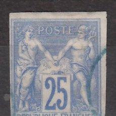 Sellos: COLONIAS FRANCESAS, EMISIONES GENERALES, 1877-79 YVERT Nº 35. Lote 176939858