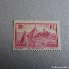 Sellos: FRANCIA 1933, YVERT Nº 290*, LE PUY EN VELAY. FIJASELLOS LEVE SEÑAL. Lote 177031364