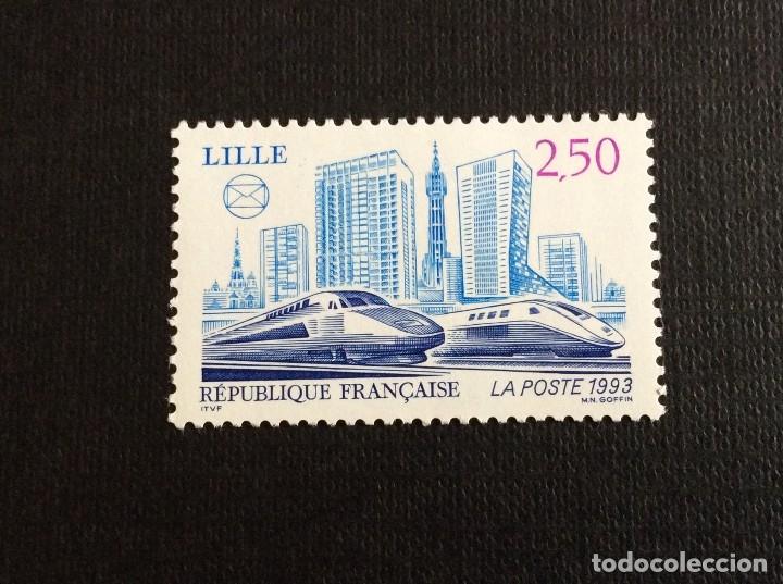 FRANCIA Nº YVERT 2811*** AÑO 1993. CONGRESO FEDERACION SOCIEDADES FILATELICAS, EN LILLE (Sellos - Extranjero - Europa - Francia)