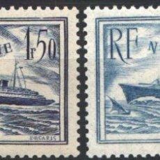 Sellos: FRANCIA, 1935-36 YVERT Nº 299 / 300 /*/ . Lote 178982671