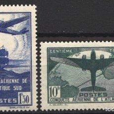 Sellos: FRANCIA, 1936 YVERT Nº 320 / 321 /*/ . Lote 178982760