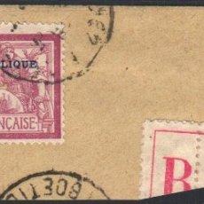 Sellos: FRANCIA, 1923 YVERT Nº 182, CONGRESO FILATÉLICO DE BORDEAUX. Lote 178986883