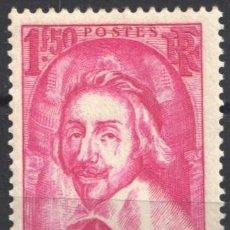 Sellos: FRANCIA, 1935 YVERT Nº 305 /**/, CARDENAL RICHELIEU, SIN FIJASELLOS . Lote 179178110
