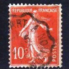 Sellos: GIROEXLIBRIS. FRANCIA.- 1906 TIPO SEMBRADORA CATÁLOGO YVERT 135 SELLOS USADOS. Lote 180271940