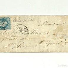 Sellos: 1868, CARTA CON SELLO ETOILE DE PARIS. Lote 180293211