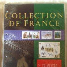 Sellos: FRANCIA FRANCE COLECCIÓN SELLOS NUEVOS MNH 2º TRIMESTRE 2011. Lote 180463088