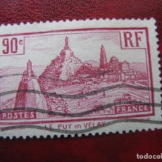 Sellos: -FRANCIA 1933, YVERT 290. Lote 182301460