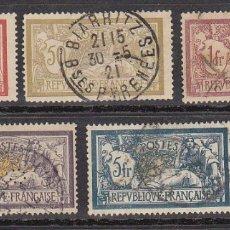 Sellos: YVERT O 119/23. 1900. Lote 182591492