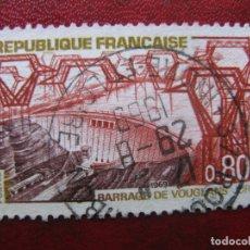 Sellos: -FRANCIA 1969, TURISMO, YVERT 1583. Lote 182665510