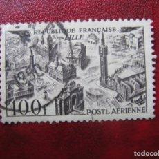 Sellos: -FRANCIA 1949, YVERT 24 AEREO. Lote 182715258