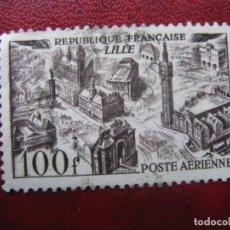 Sellos: -FRANCIA 1949, YVERT 24 AEREO. Lote 182715346