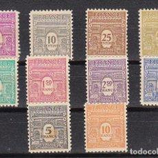 Sellos: X 920/29. ARCO DEL TRIUNFO. 1944. Lote 182848541